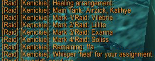 """Tank Healing"" the Mark of the Fallen Champion"